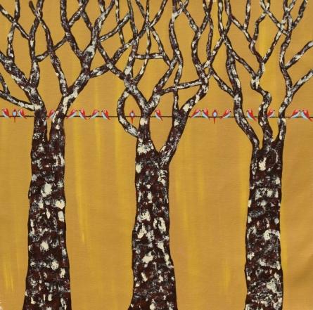 Gazaf Vriksh | Painting by artist Sumit Mehndiratta | acrylic | Canvas