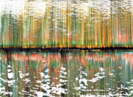 Abstract Acrylic Art Painting title 'Hamela' by artist Sumit Mehndiratta