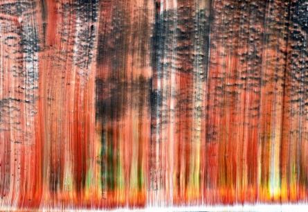 Abstract Acrylic Art Painting title 'Izlea' by artist Sumit Mehndiratta