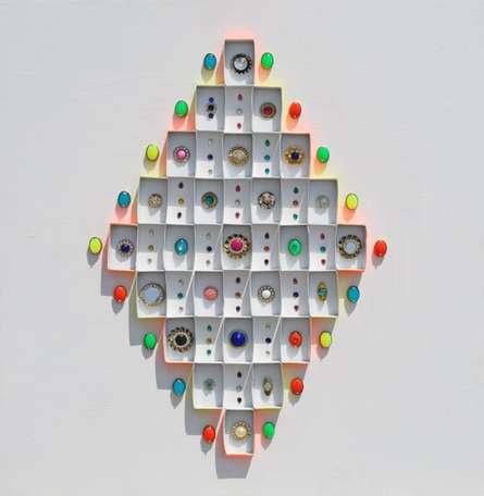 Jewelled It Series No. 1 | Mixed_media by artist Sumit Mehndiratta | wood