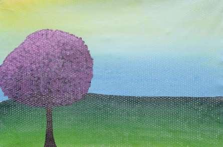 Summerscape | Painting by artist Sumit Mehndiratta | acrylic | canvas