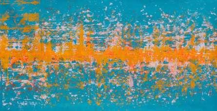 Maglev  | Painting by artist Sumit Mehndiratta | acrylic | Canvas