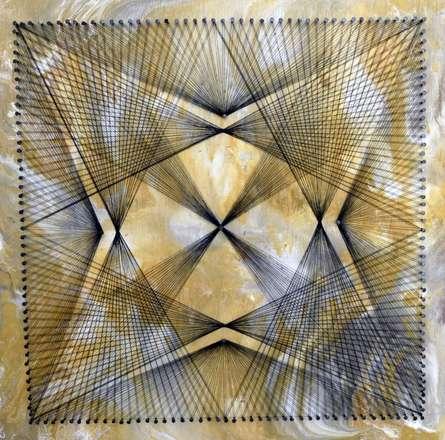 Nailed It Series No. 31 | Mixed_media by artist Sumit Mehndiratta | wood