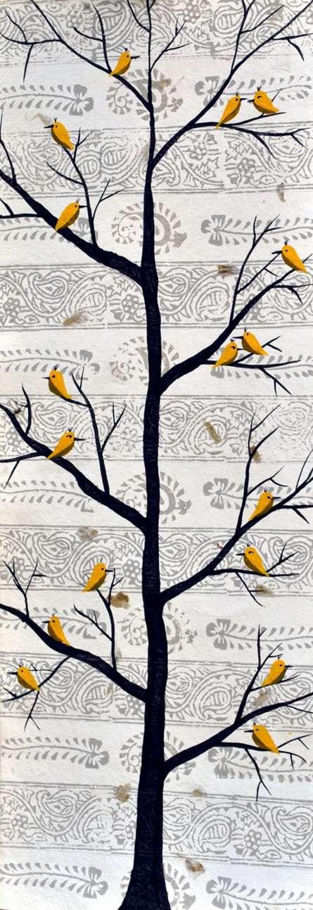 Sukhvan | Painting by artist Sumit Mehndiratta | acrylic | Canvas
