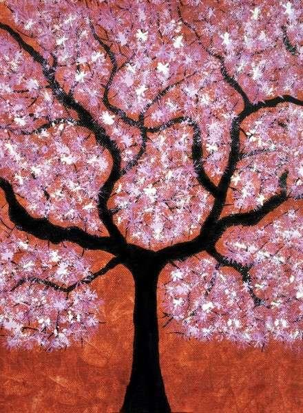 Sumit Mehndiratta | Acrylic Painting title Treescape 2 on Canvas | Artist Sumit Mehndiratta Gallery | ArtZolo.com