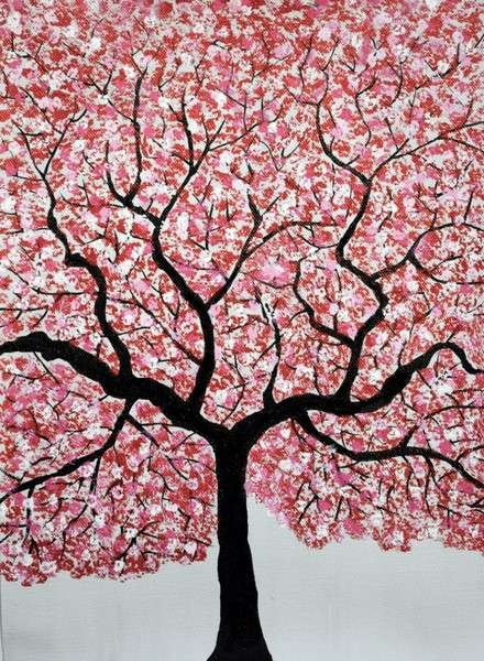 Treescape 4 | Painting by artist Sumit Mehndiratta | acrylic | Canvas