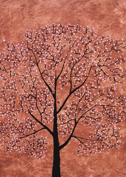 Treescape 7 | Painting by artist Sumit Mehndiratta | acrylic | Canvas