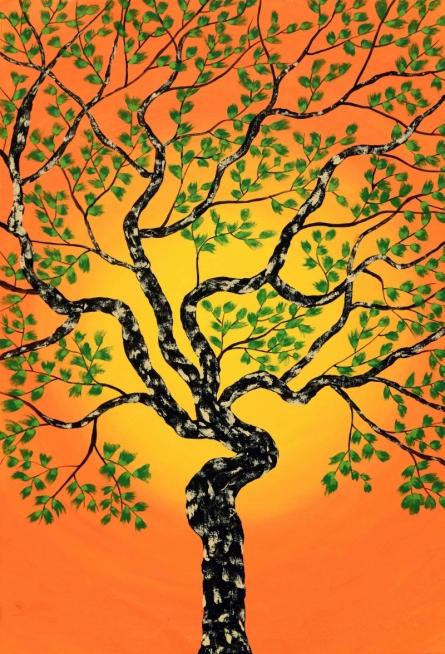 Tribhovan | Painting by artist Sumit Mehndiratta | acrylic | canvas
