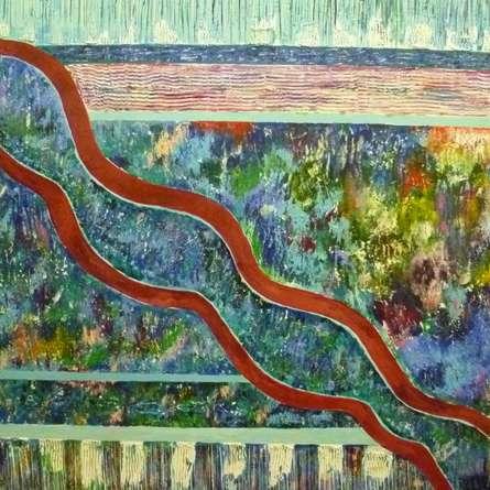 Journey   Painting by artist Subodh Maheshwari   acrylic   Canvas