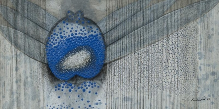 Object From Nature | Painting by artist Asim Paul | mixed-media | Canvas