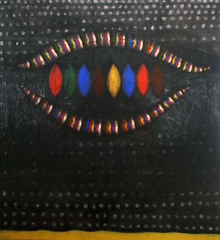 Seed | Painting by artist Asim Paul | acrylic | Canvas
