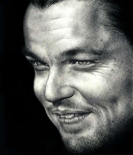 Leonardo DiCaprio | Drawing by artist Pranab Das |  | pencil | Paper