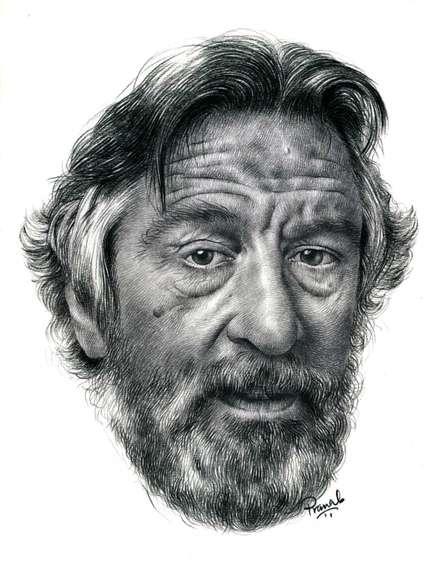 Robert De Niro | Drawing by artist Pranab Das |  | pencil | Paper