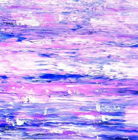 Abstract Acrylic Art Painting title 'Colours of the Ocean' by artist Manju Lamba