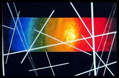SunFest | Painting by artist Manju Lamba | acrylic | Canvas