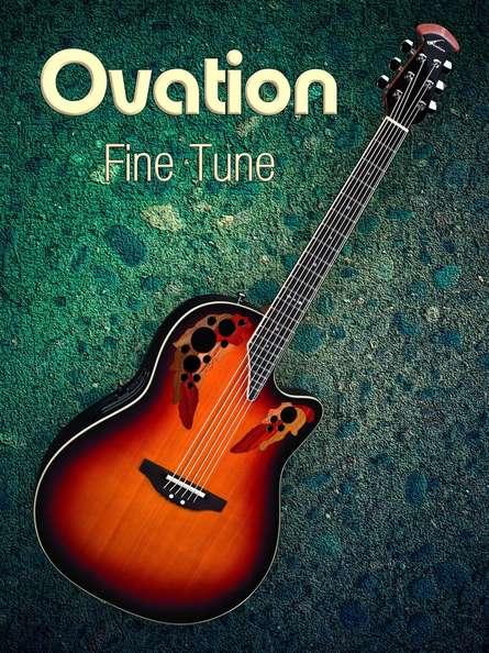 Ovation Fine Tune   Photography by artist Shavit Mason   Art print on Canvas