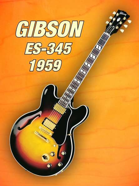 Shavit Mason | Gibson - es - 345 1959 Photography Prints by artist Shavit Mason | Photo Prints On Canvas, Paper | ArtZolo.com