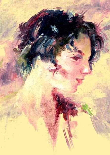 Beauty 03 | Painting by artist Raviraj Kumbhar | acrylic | Canvas Board