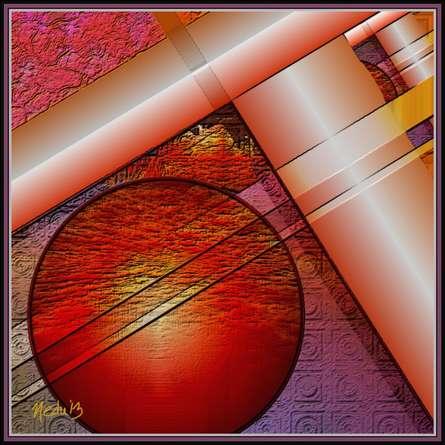 A geometric design | Digital_art by artist Nedunseralathan Rajamanickam | Art print on Canvas
