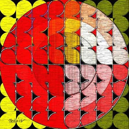Nedunseralathan Rajamanickam | Squares and circles Digital art Prints by artist Nedunseralathan Rajamanickam | Digital Prints On Canvas, Paper | ArtZolo.com
