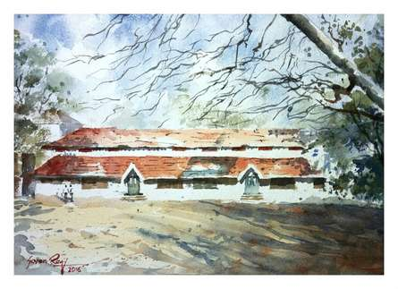 Bright Day | Painting by artist Soven Roy | watercolor | Paper