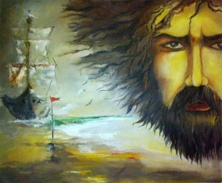 Time | Painting by artist Onkar K | oil | Canvas