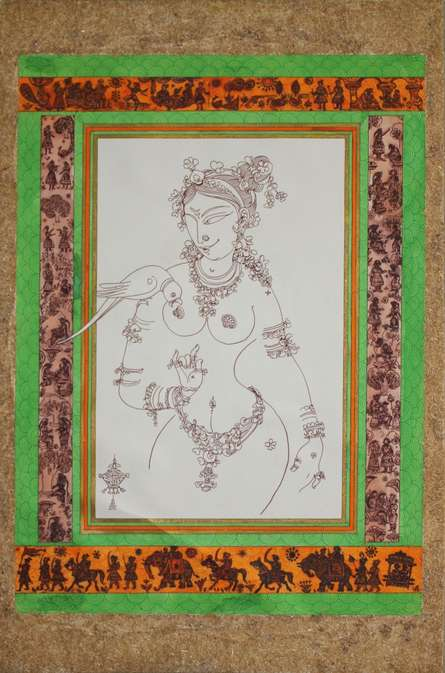 Tarunai | Painting by artist Satish Chavhan | other | Paper