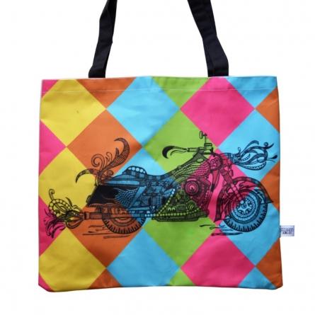 Bike bag | Craft by artist Sejal M | Canvas
