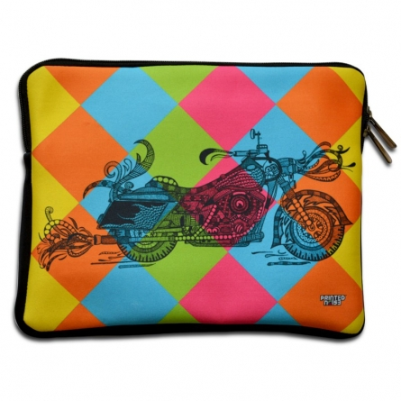 Bike iPad Sleeve | Craft by artist Sejal M | Neoprene