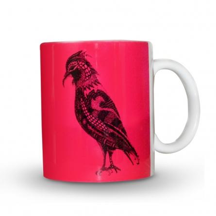 Sejal M | Bird Print Mug Craft Craft by artist Sejal M | Indian Handicraft | ArtZolo.com