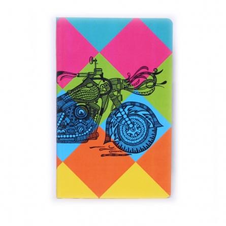 Bike Book | Craft by artist Sejal M | Paper