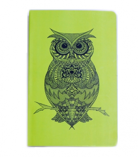 Owl Book | Craft by artist Sejal M | Paper