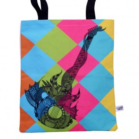 Guitar Bag   Craft by artist Sejal M   Canvas