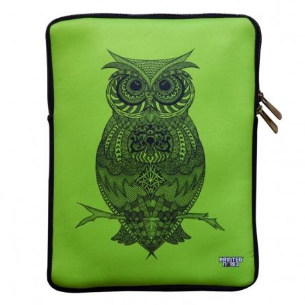 Owl iPad Sleeve | Craft by artist Sejal M | Neoprene