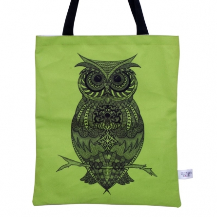Sejal M | Owl Bag Craft Craft by artist Sejal M | Indian Handicraft | ArtZolo.com