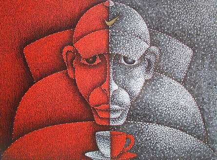 Good Morning   Painting by artist Satyajeet Shinde   acrylic   Canvas