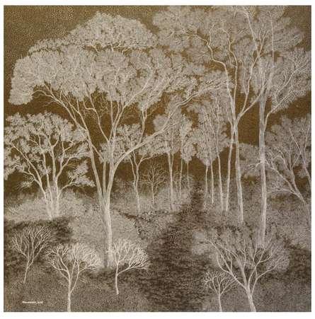 Landscape   Painting by artist Shuvankar Maitra   acrylic   Canvas