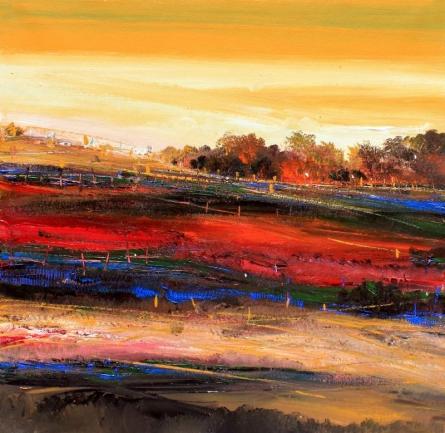 Nature 22 | Painting by artist Bhaskar Rao | acrylic | Canvas