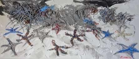 Meraviglie  | Painting by artist Francesca Monico | acrylic | Canvas