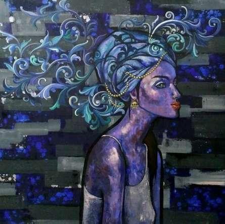 At Leisure   Painting by artist Suruchi Jamkar   acrylic   Canvas