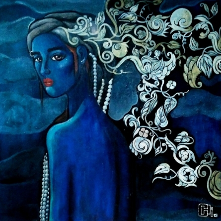 Designs Of A Beautiful Mind | Painting by artist Suruchi Jamkar | acrylic | Canvas