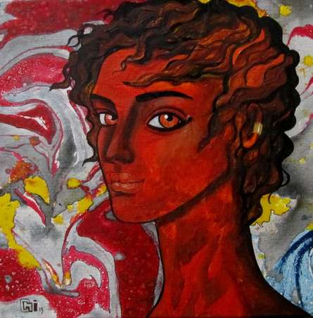 Passionate thoughts | Painting by artist Suruchi Jamkar | oil | Canvas