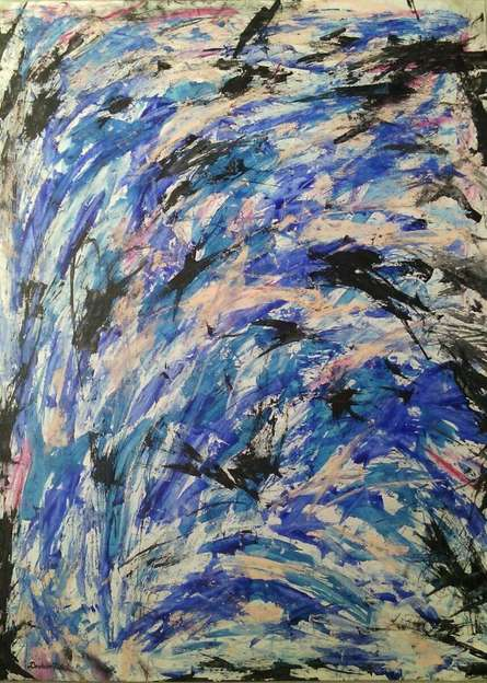 Force Of Life | Painting by artist DEVIRANI DASGUPTA | mixed-media | Canvas Paper