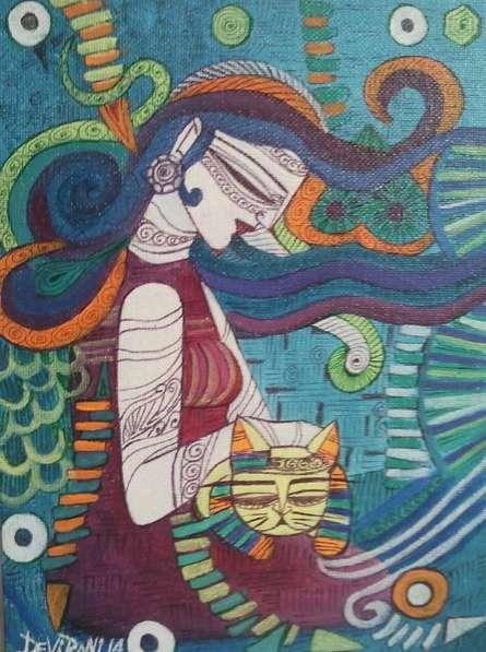 Love | Painting by artist DEVIRANI DASGUPTA | acrylic | Canvas Board