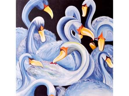 Kalrav  | Painting by artist Deepali Mundra | oil | Canvas