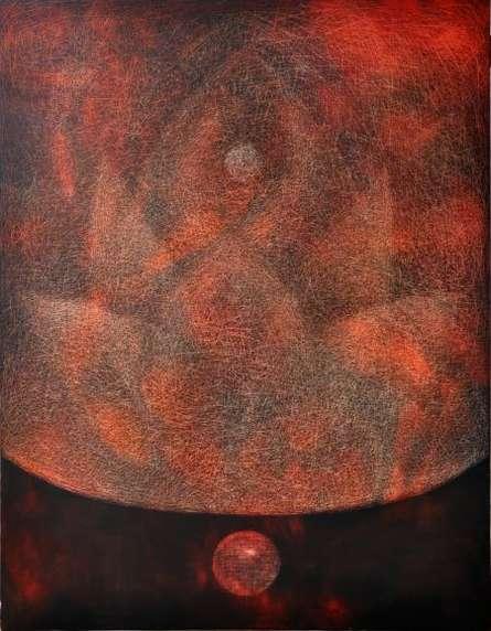 Pipasa2 | Painting by artist Hanumanth Devulapalli | oil | Canvas