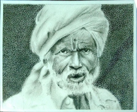 Charcoal on lather paper   Painting by artist Akash Chavan   charcoal   Charcoal