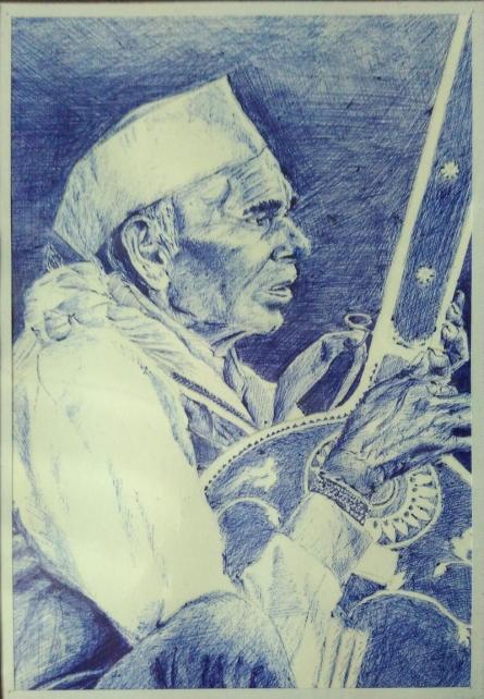 Ball pen on paper   Painting by artist Akash Chavan   other   ballpen