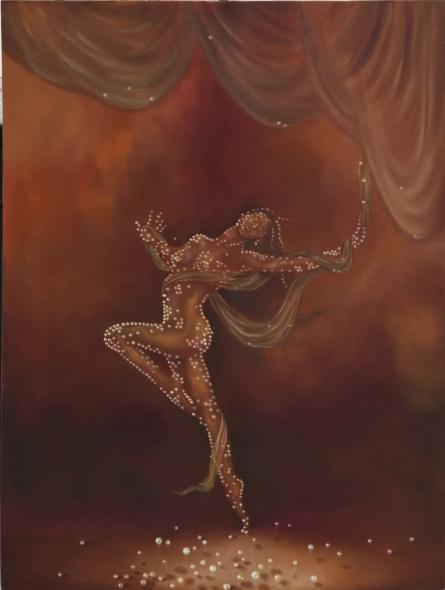 Durshit Bhaskar | Oil Painting title High Life on Canvas | Artist Durshit Bhaskar Gallery | ArtZolo.com