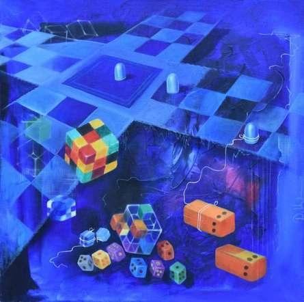 Chopard | Painting by artist Durshit Bhaskar | oil | Canvas
